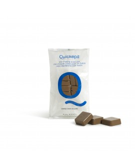 Hot wax Quickepil chocolate